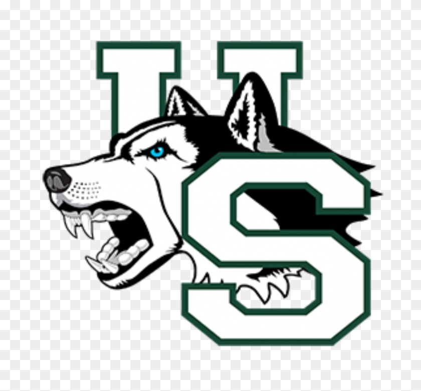 Saskatchewan Huskies - Sled Dog Clip Art