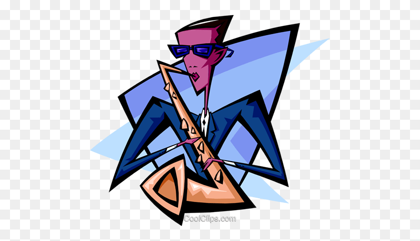 Sax Player - Sax Clip