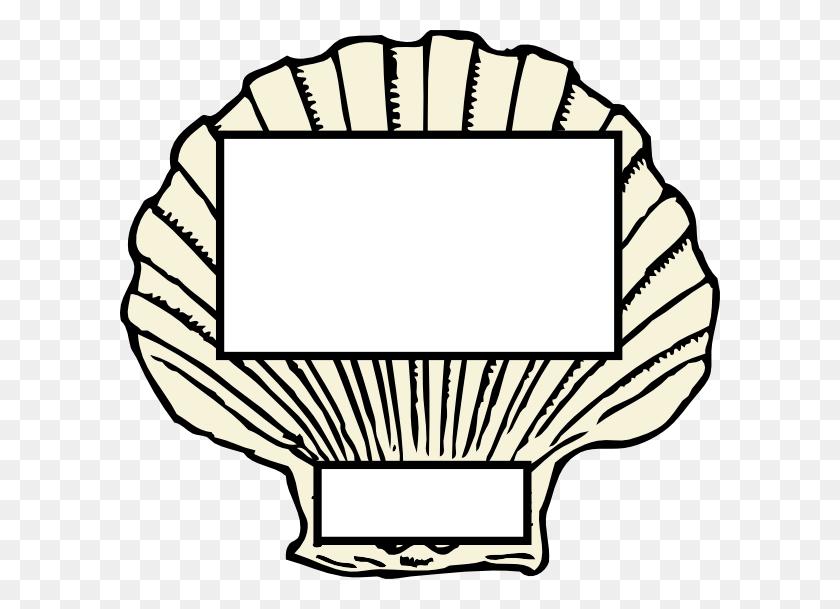 Scallop Clipart - Scallop Shell Clip Art