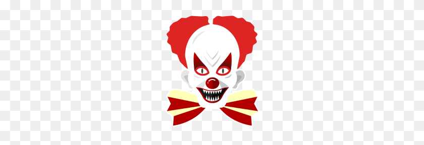 Scary Clown Costume T Shirt Creepy Clown Mask Hall - Scary Clown PNG