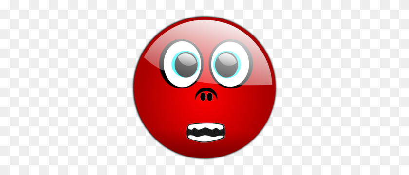 Scary Face Clip Art - Scared Face Clipart