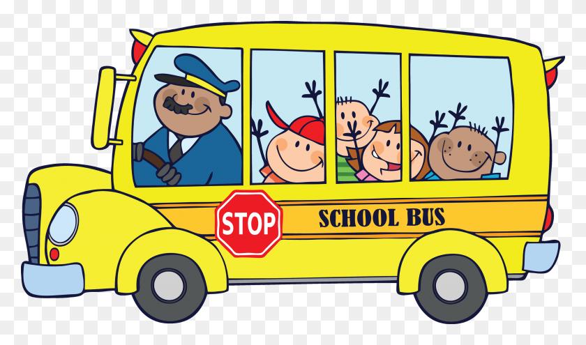 School Bus Clip Art For Kids Free Clipart Images - School Kids Clipart