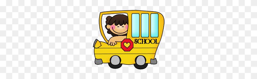 School Bus Clip Art School, School Bus Driver, School Clipart - School Bus Driver Clipart