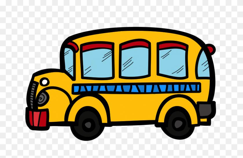 School Bus Cute Bus Clipart Kid - School Kids Clipart