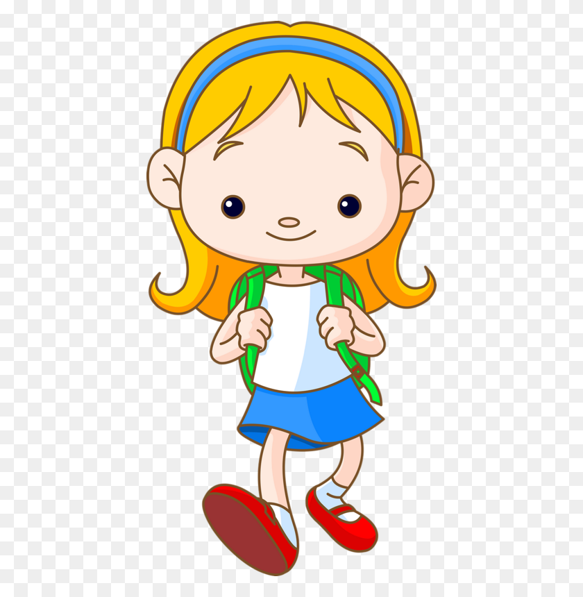 School Children Clipart School, Children - Preschool Kids Clipart