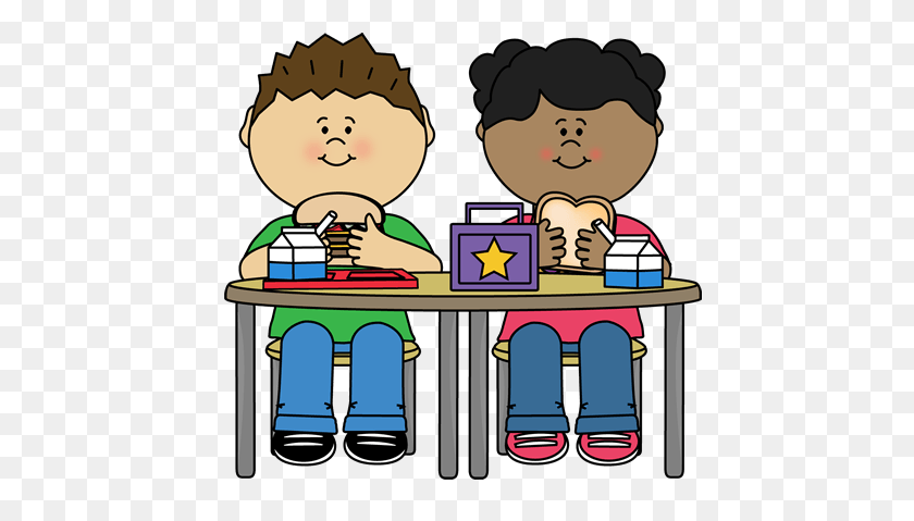 450x419 School Lunch Cliparts - Lunch Menu Clipart