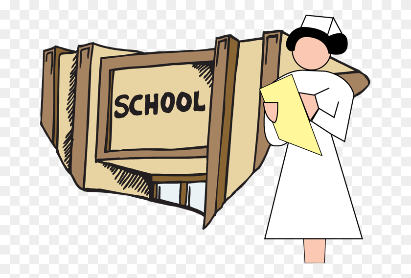 School Nurse Clip Art Free Clipart - School Clip Art Free