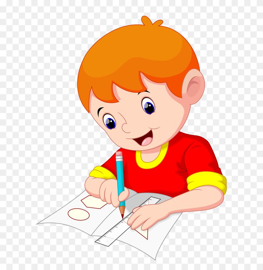 School, School Clipart And Children - Preschool Kids Clipart