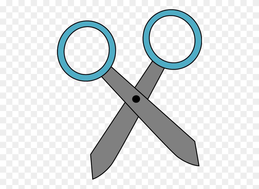 School Scissors Clipart - School Materials Clipart