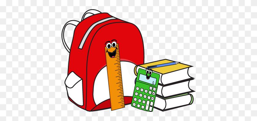 School Supplies Clip Art - Transparent Book Clipart