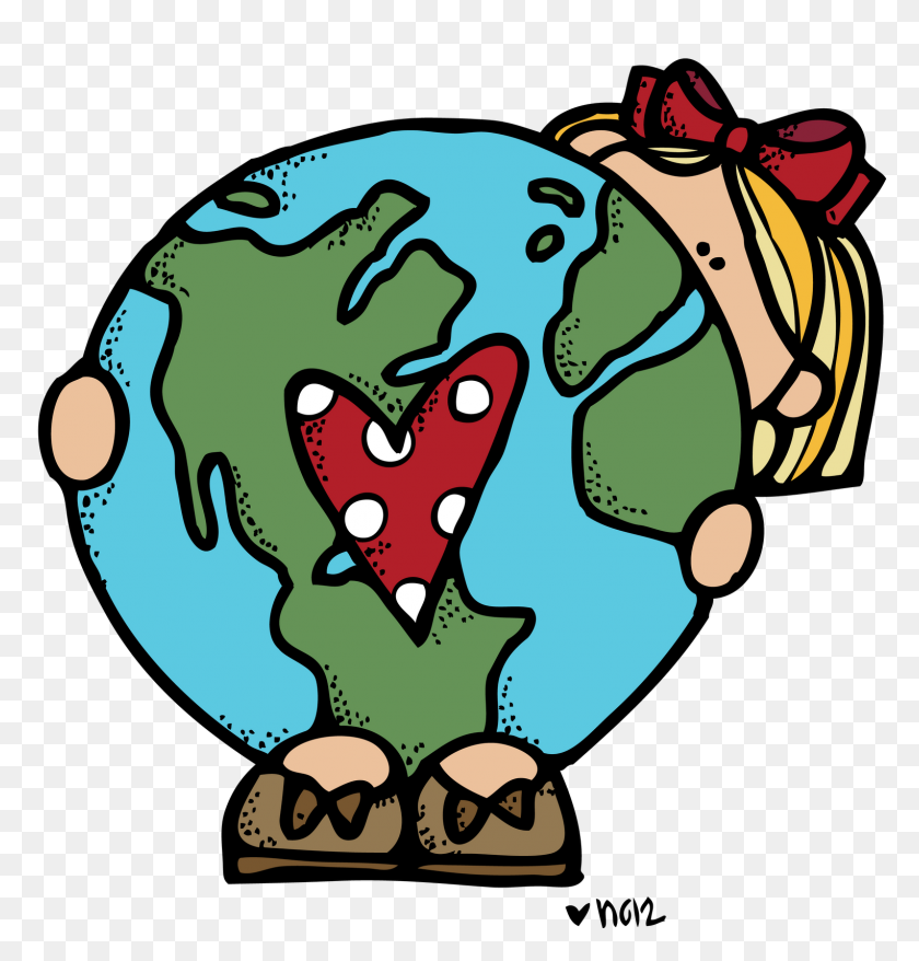 Science Clipart Happy Earth - Science Clipart