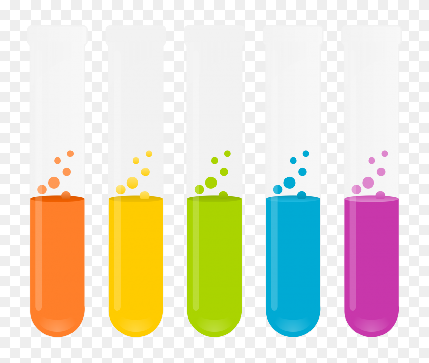 Science Test Tubes Png Transparent Science Test Tubes Images - Science Clipart