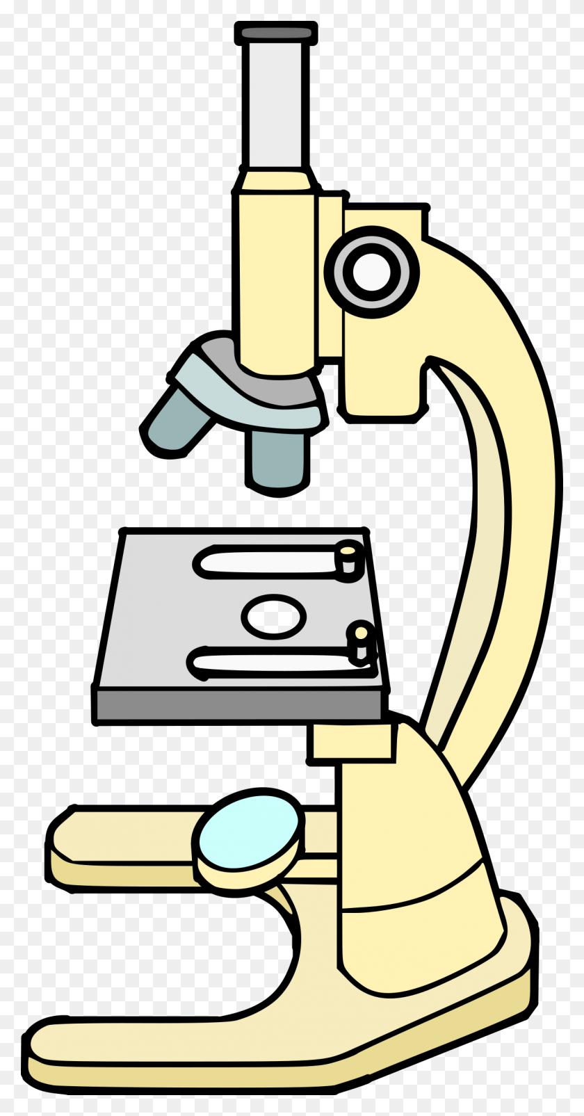 Scientist Clipart Microscope, Scientist Microscope Transparent - Scientist Clipart PNG