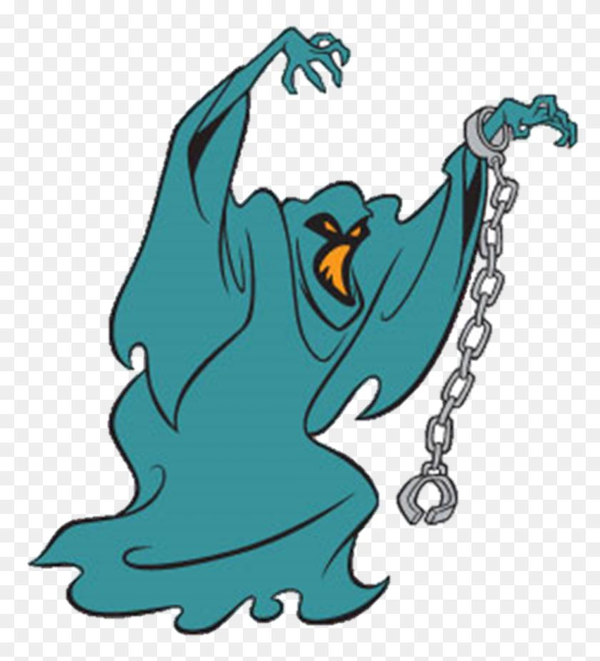 Scooby Doo Villain Phantom Shadow From A Night Of Fright Is No - Phantom Clipart