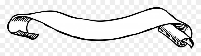 Scroll Banner Png Clipart Best, Scroll Banner Designs Clip Art - White Banner Clipart