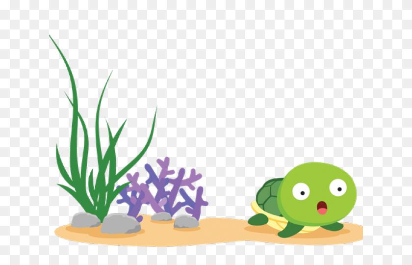 Sea Grass Clipart Sea Creature - Sea Grass Clipart