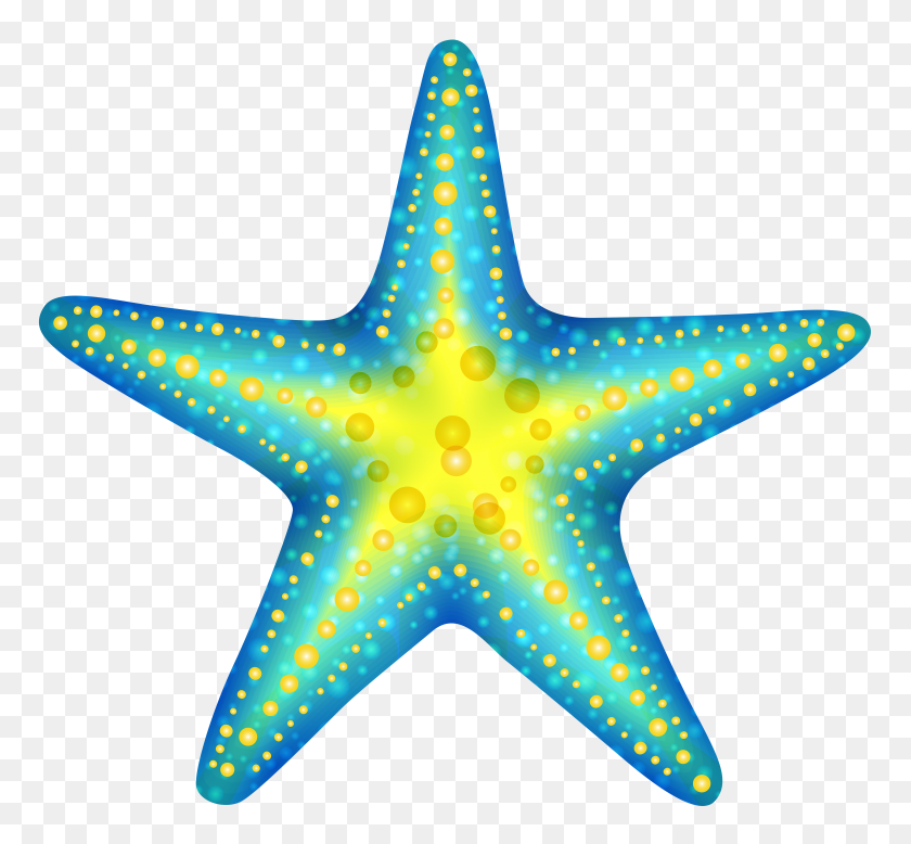 Seahorse Clipart Starfish - Seahorse Clipart