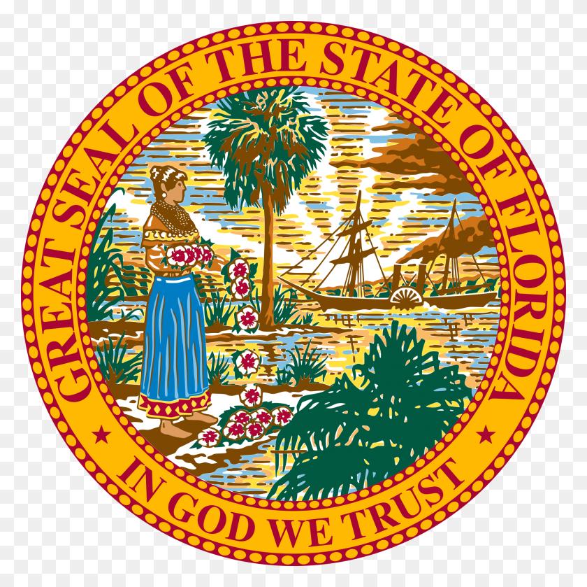 Seal Of Florida - University Of Florida Clip Art