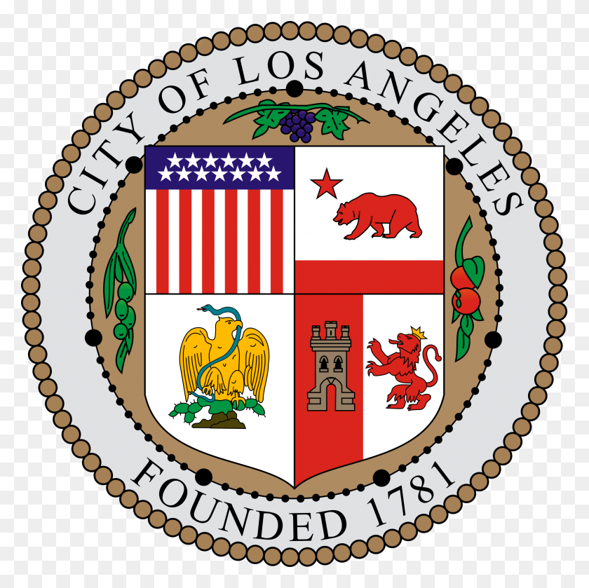 2000x2000 Seal Of Los Angeles, California - Los Angeles PNG