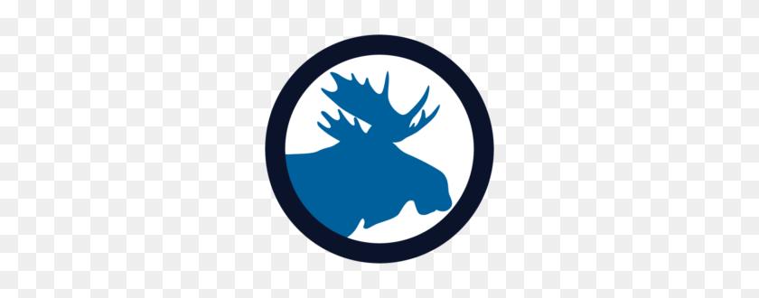 270x270 Seasonal The Blue Moose - Moose Clipart