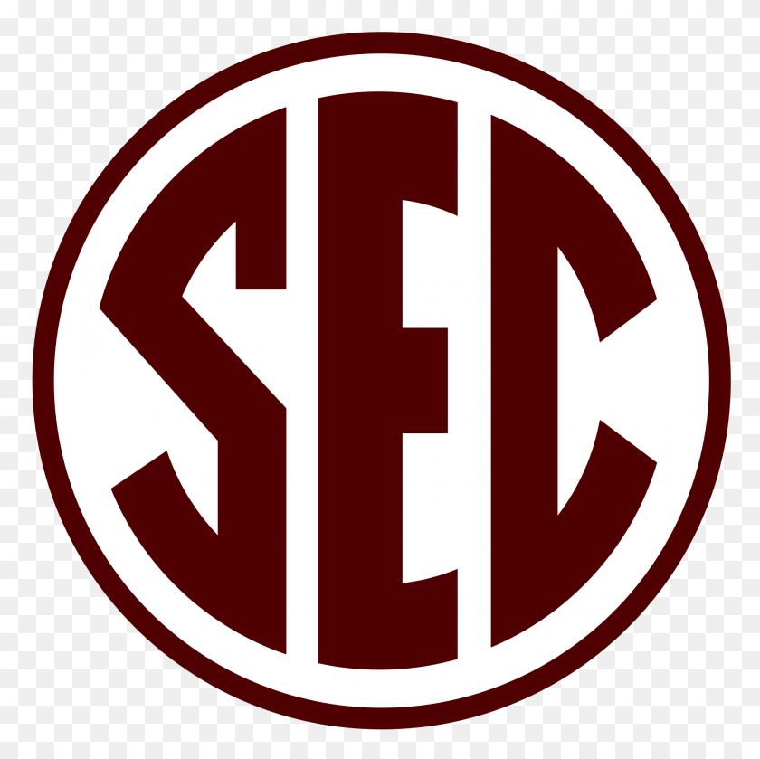 Sec Logo In Texas Aampm Colors - Texas Aandm Logo PNG