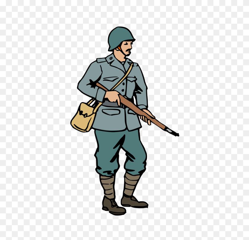 Second World War Soldier First World War - Ww2 Clipart