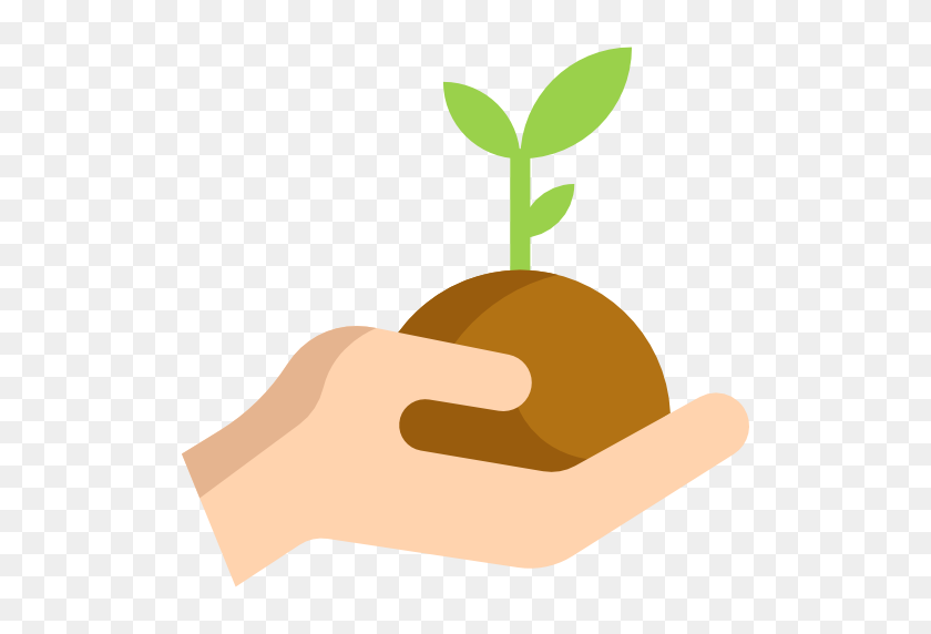 Seed Clipart Hand Planting - Planting Seeds Clipart