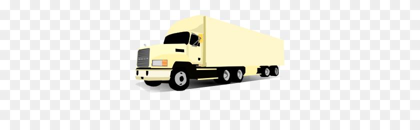 Semi Clipart - Ups Truck Clipart