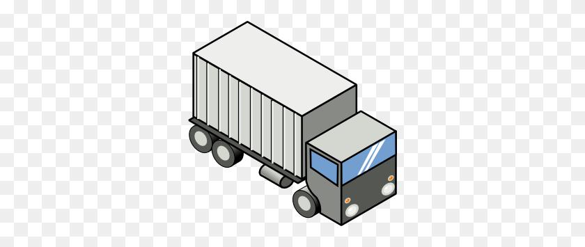Semi Truck Clipart Black And White - Semi Truck Clipart