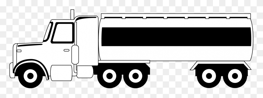Semi Truck Side View Clipart, Truck Front View Clipart - 18 Wheeler Truck Clipart