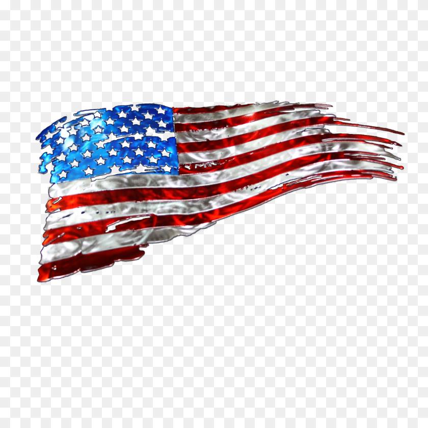 Over Waving Us Flag Clipart Cliparts Waving Us Flag - Waving