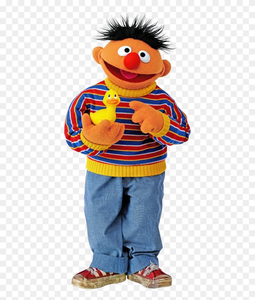 Sesam Street Clipart Ernie Rubber Duckie - Rubber Duck Clip Art Free