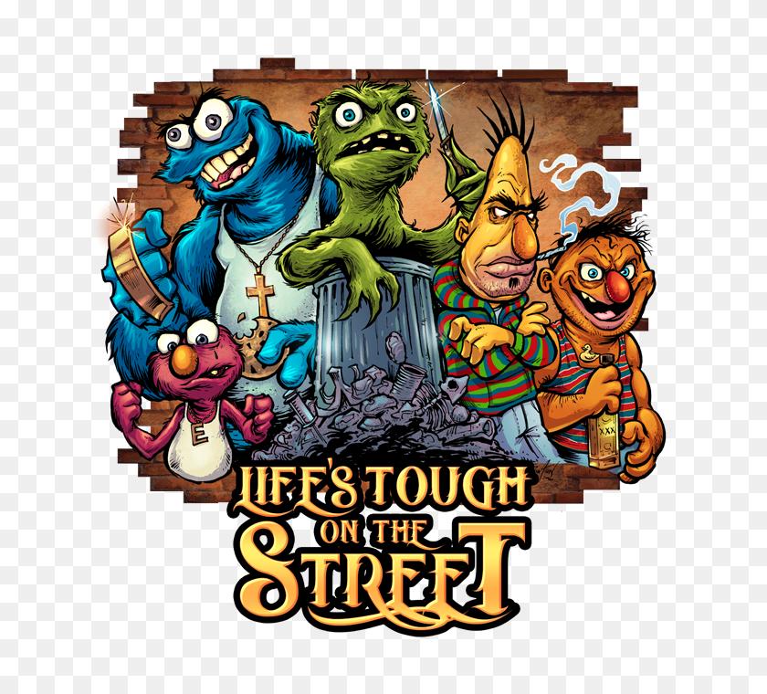 Sesame Street Gang On Behance - Sesame Street Characters PNG