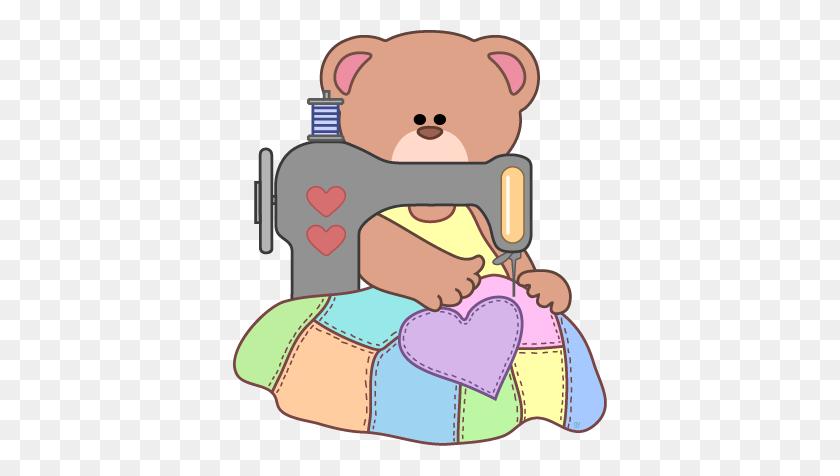 Sewing Clip Art - Hug Clipart