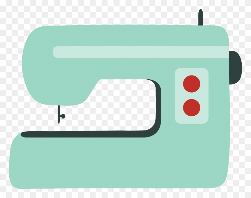 Sewing Machine Clipart Stitching - Seamstress Clipart