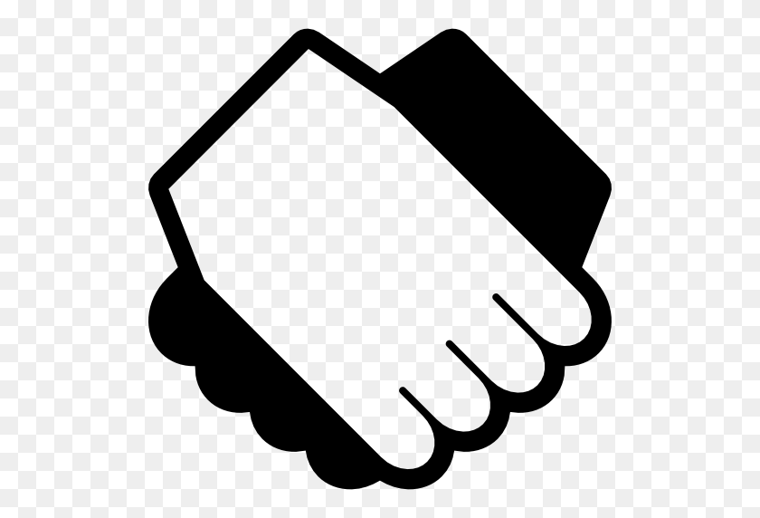 Shaking Hands Free Icon - Mano PNG