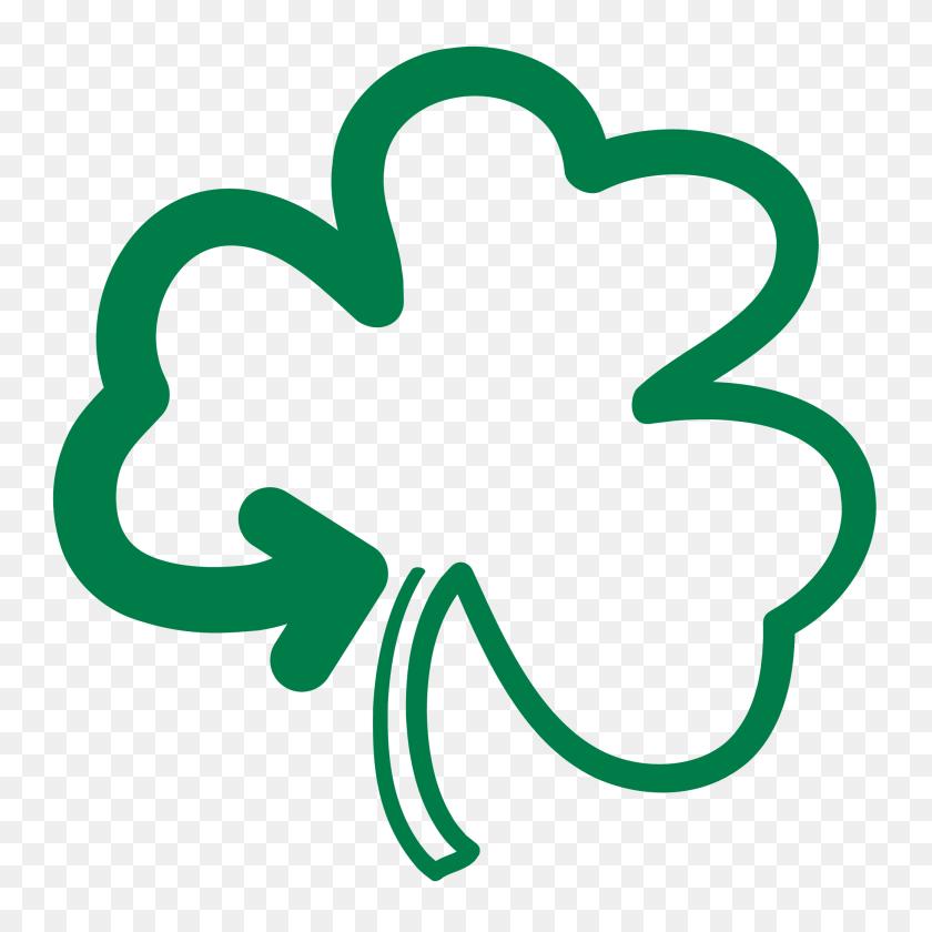 Shamrock Logos - Fighting Irish Clipart
