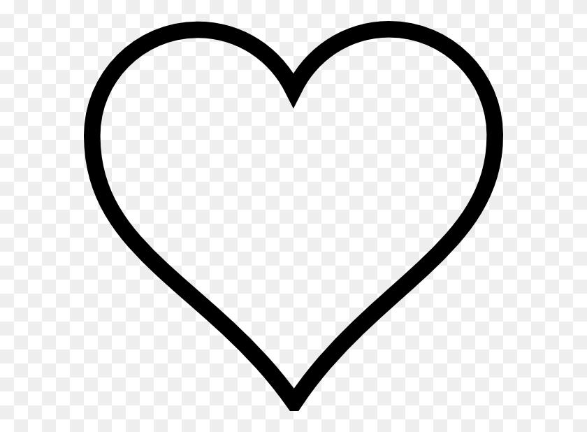 Shapes Clip Art Thick Heart Shape Clip Art - Shapes Clipart