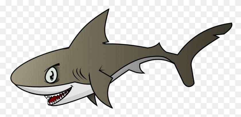 Shark Fishing Clipart - Hunting And Fishing Clipart