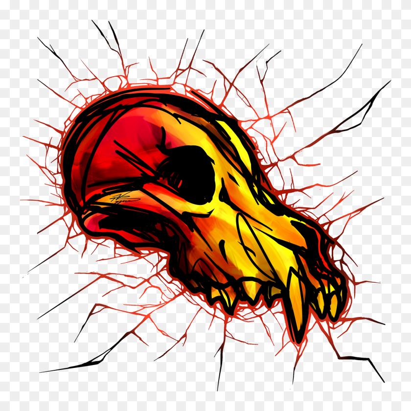 Shatter Skulls On Behance - Shatter PNG