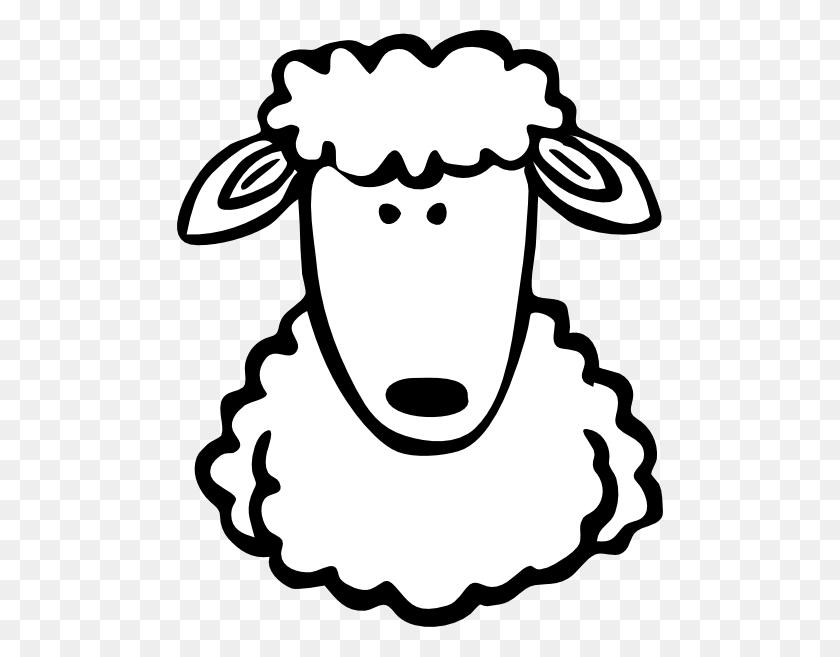 Sheep Black And White Sheep Lamb Clipart Black And White Free - Cow Head Clipart Black And White