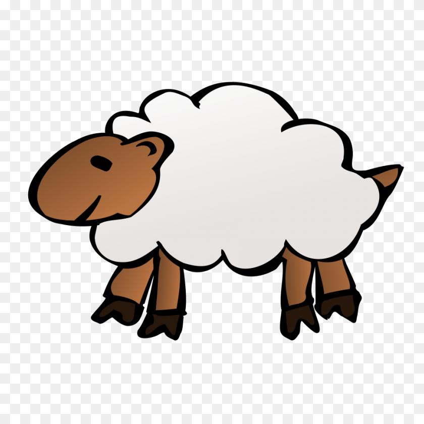 Sheep Clip Art - English Bulldog Clipart