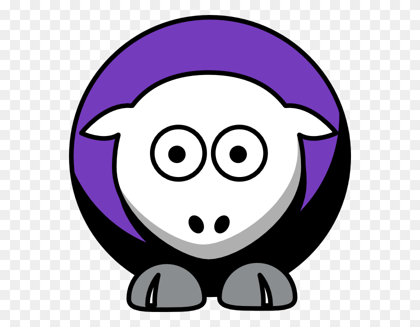 564x594 Sheep Sacramento Kings Team Colors Clip Art - Sacramento Kings Logo PNG