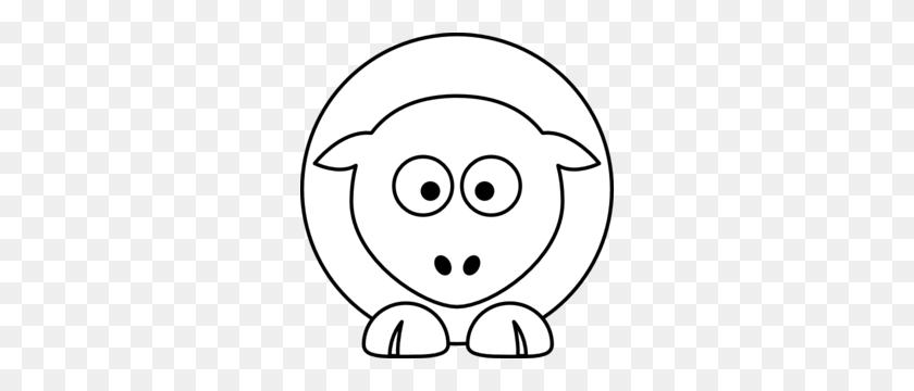 Sheep White Clip Art - Sheep Clipart Black And White