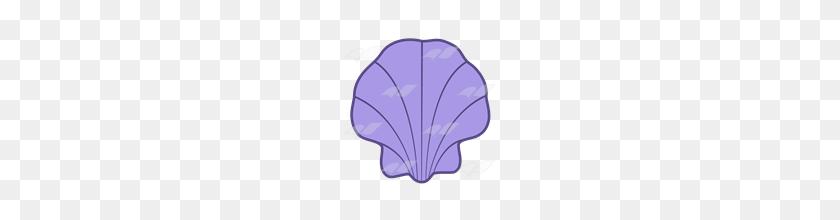 Shell Clipart Purple Shell - Shell Clipart