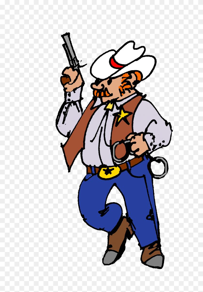 Sheriff Clip Art Free - Sheriff Badge Clipart