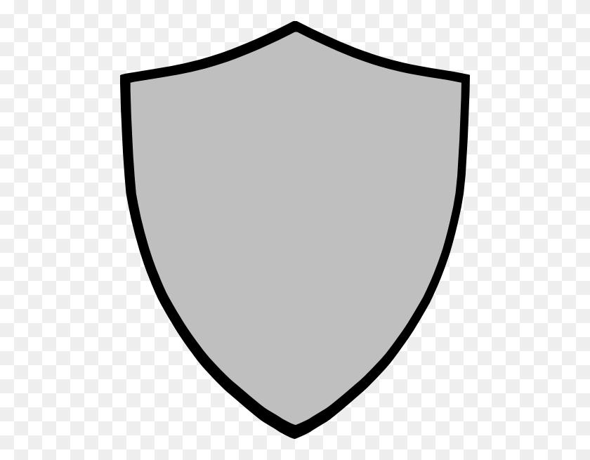 Shield Gray Clip Art - Gray PNG