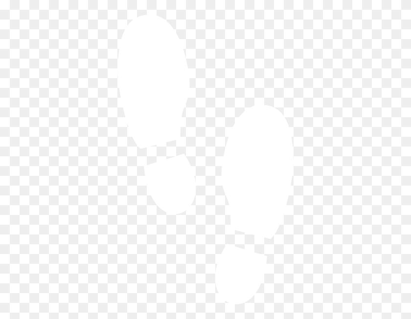 Shoe Print White Clip Art - Shoe Print Clipart Black And White