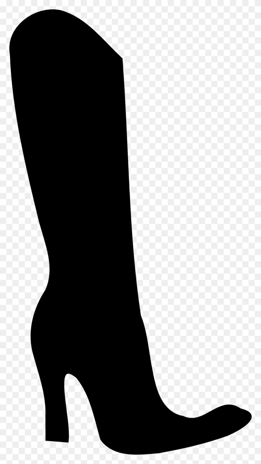 Shoe Silhouette Clip Art Shoe Silhouette - High Heel Shoe Clipart