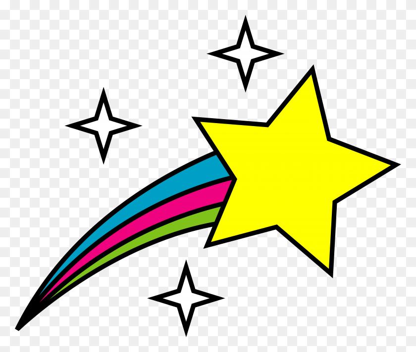 Shooting Star Clip Art I Description - Reach For The Stars Clipart